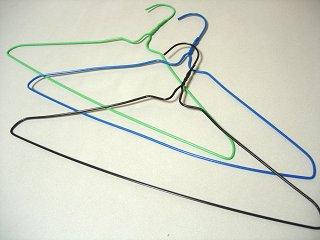 針金ハンガー