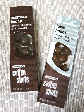 コロンボス・コーヒーショッツ2種